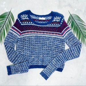 Abercrombie & Fitch Beaded Knit Sweater Size XS